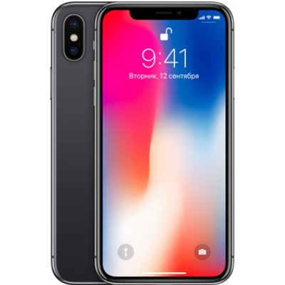 Купить Apple iPhone X 64Gb Space Gray в Туле